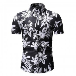 Summer Casual Short Sleeved Shirt With Print